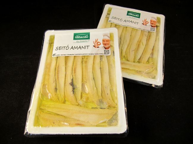 CANTABRIC MARINATED ANCHOVIES TRAY IN OLIVE OIL (150 ml) - 14285