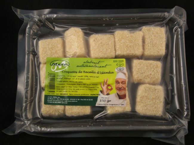 ICELAND COD CROQUETTES TRAY (350 g) - 12926