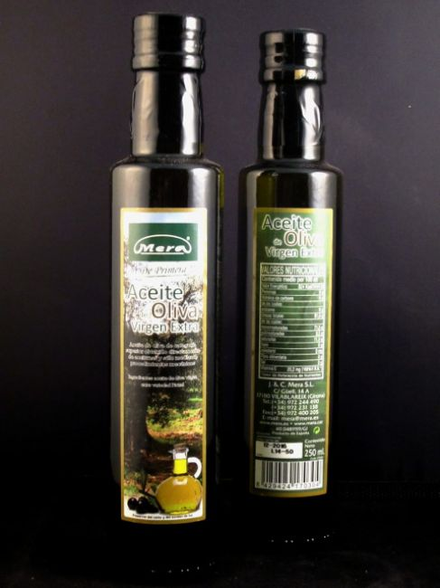 EXTRA VIRGIN OLIVE OIL (250 ml) - 17030