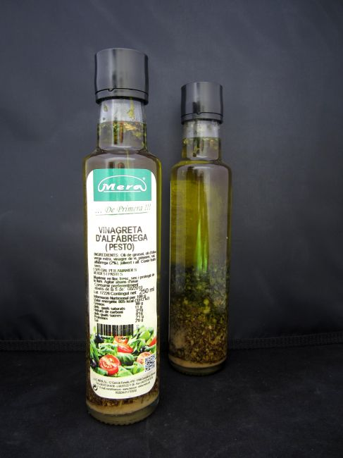VINAGRETA ALBAHACA EXTRA (PESTO) (250 ml) - 17041