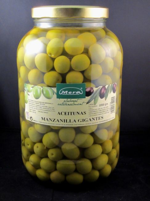GALLON GIANT MANZANILLA OLIVE (4000 ml) - 31004