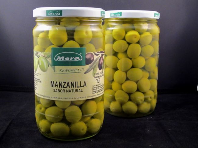 ACEITUNA MANZANILLA NATURAL (720 ml) - 35013