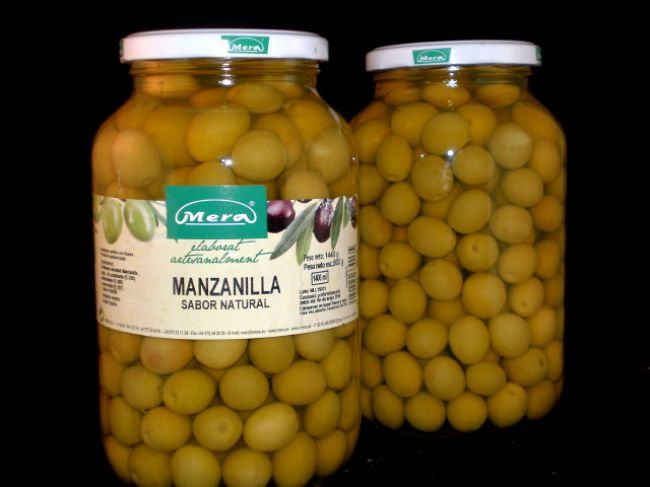 MANZANILLA OLIVE AU NATUREL (1400 ml) - 33013