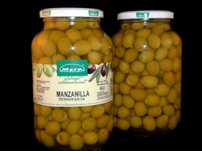 PITTED MANZANILLA OLIVE (1400 ml) - 33014