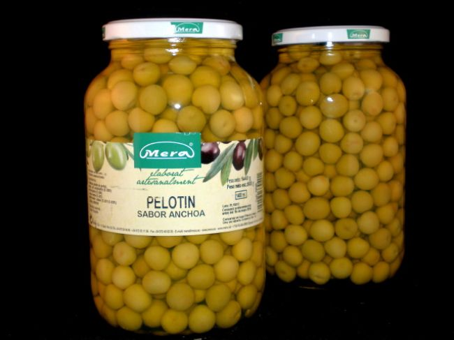 ANCHOVIES FLAVOURED PELOTÍN OLIVE (1400 ml) - 33040