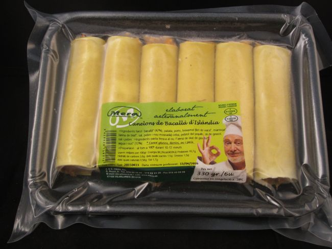 55 g ICELAND COD CANNELLONI TRAY (330 g) - 12921