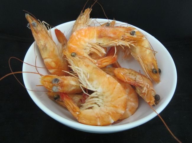 SHRIMP COOKED SALAD 35/45 FROZEN (2 kg.) - 13201