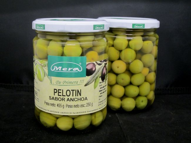ANCHOVIES FLAVOURED PELOTÍN OLIVE  (445ml) - 37040